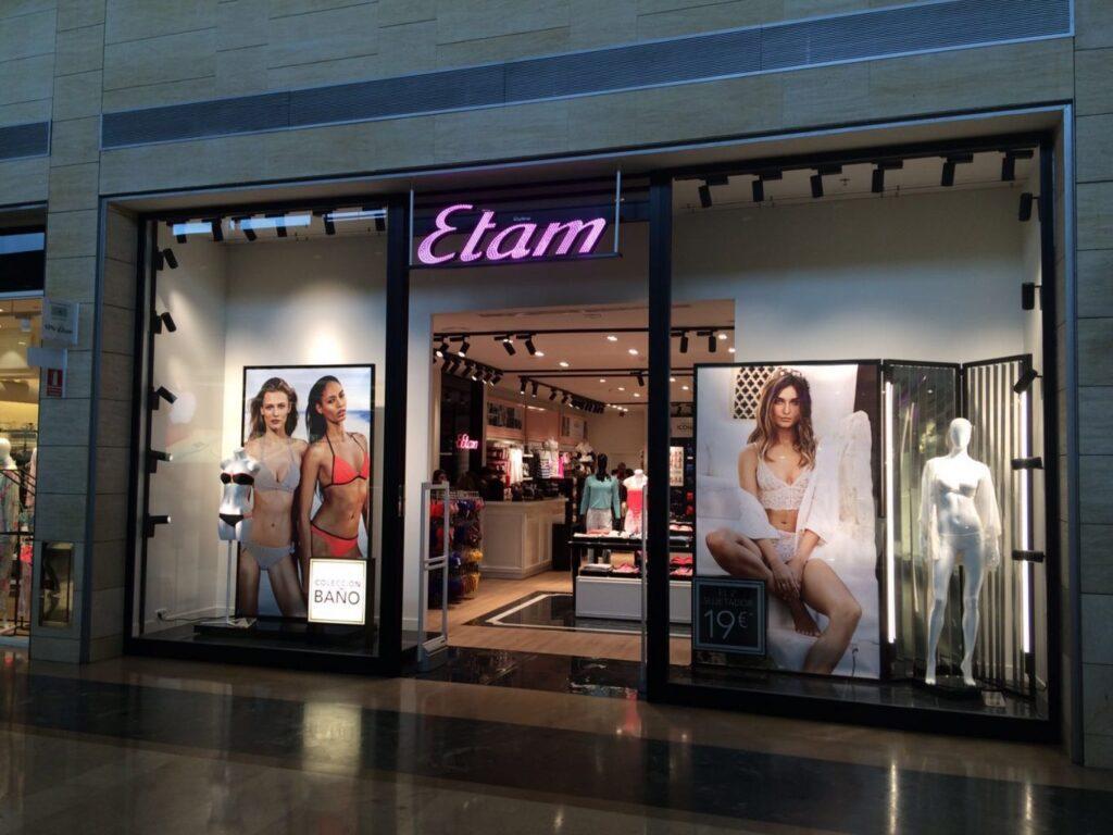 Se Necesita Vendedor/a para ETAM Tienda de Lencería en SEVILLA