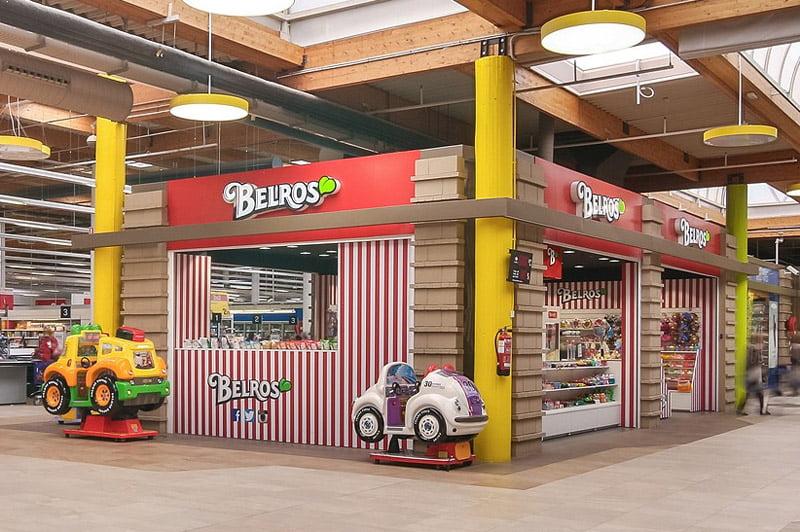 Se Necesita Dependiente/a en BELROS para el Centro Comercial Parque Almenara en LORCA en MURCIA