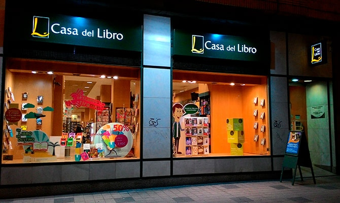 ▷ Se Necesita Dependiente/a en la Librería Casa del Libro en Murcia